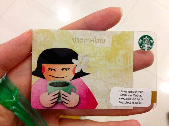 Thai Girl Starbucks Card