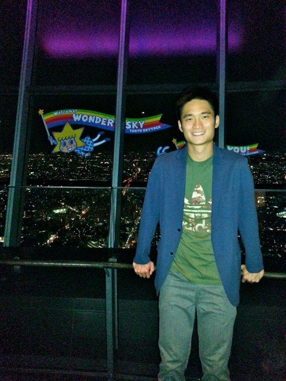 Me at Tokyo Skytree