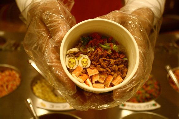 Cup Noodles Ingredients