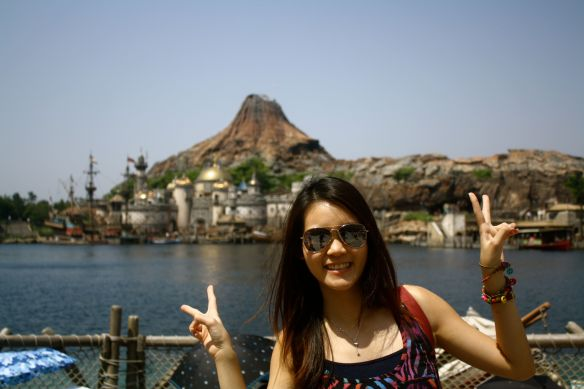 Michelle at DisneySea