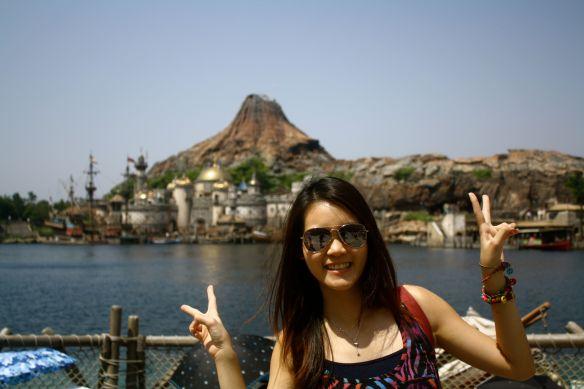 Michelle at DisneySea