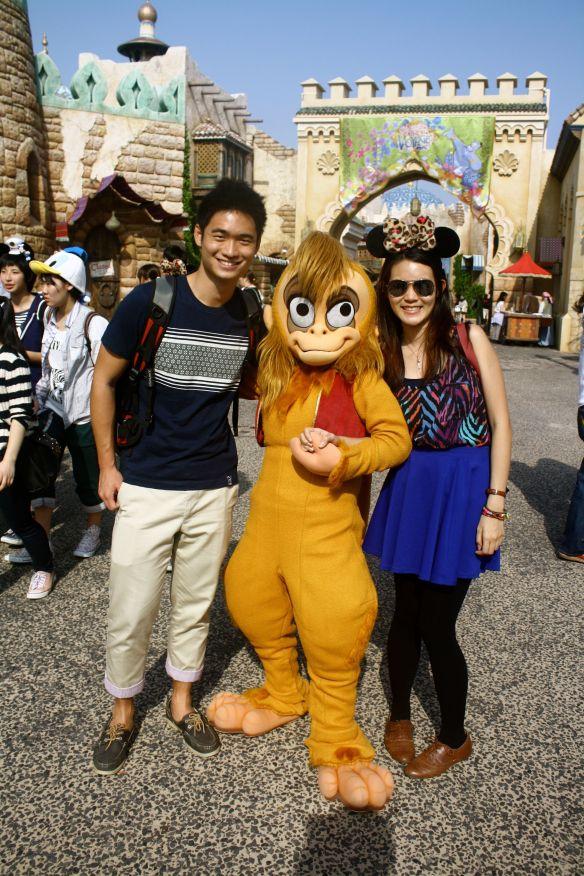 Monkey at DisneySea