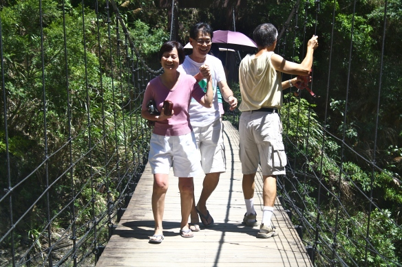 Parents on Bridge