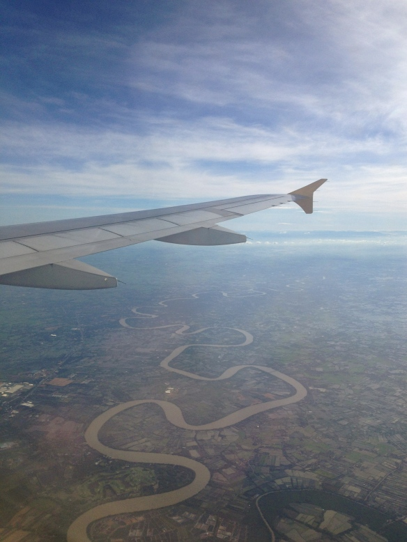 Meander from Plane