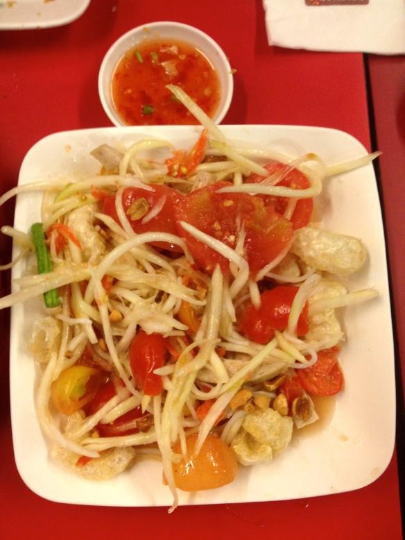 Som Tam Nua Papaya Salad