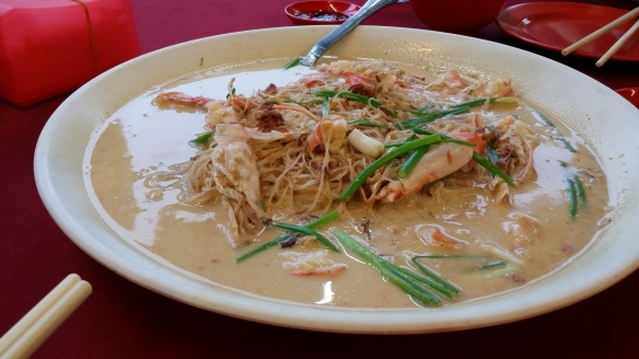 Cheese Prawn Bee Hoon