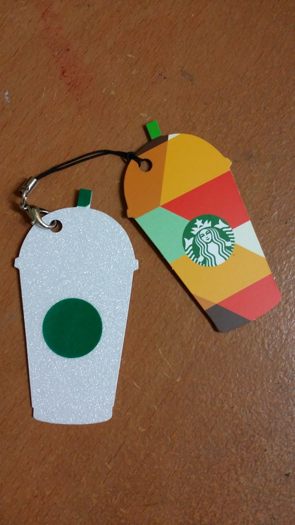 Singapore Mini Frappuccino Card