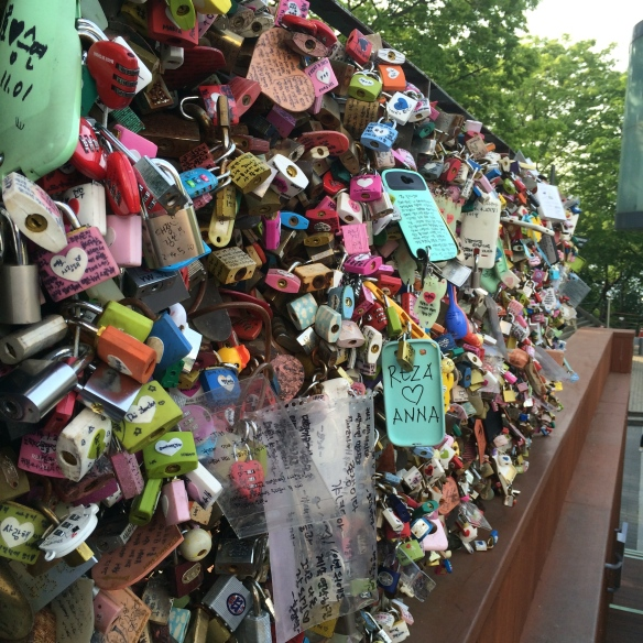 Wall of locks