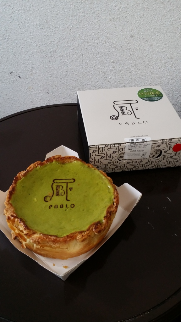 Matcha Pablo Cheese Tart