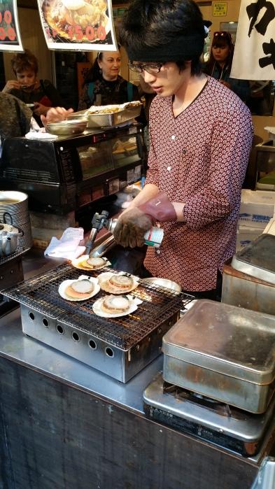 Tsukiji Scallops